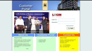 Sobha Customer Portal