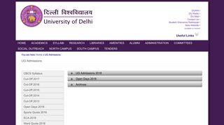 Ug Admission Portal