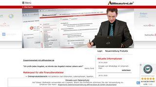 Versicherungsmakler Portal