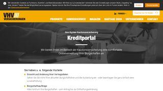 Vhv Kautionsversicherung Portal