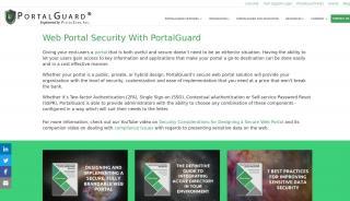 Web Portal Security