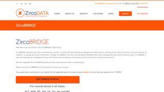 Zirco Bridge Portal