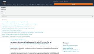 Aws Self Service Portal