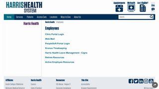 Harris Health Citrix Portal
