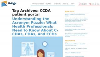 Patient Portal C-cda