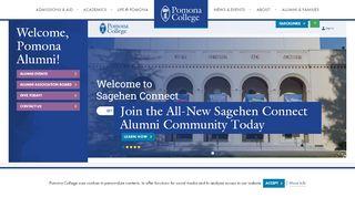 Pomona College Alumni Portal