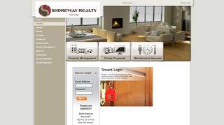 Shoreway Realty Tenant Portal