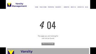 Varsity Management Portal
