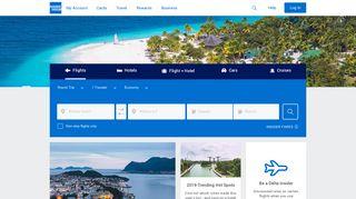 Amex Travel Portal